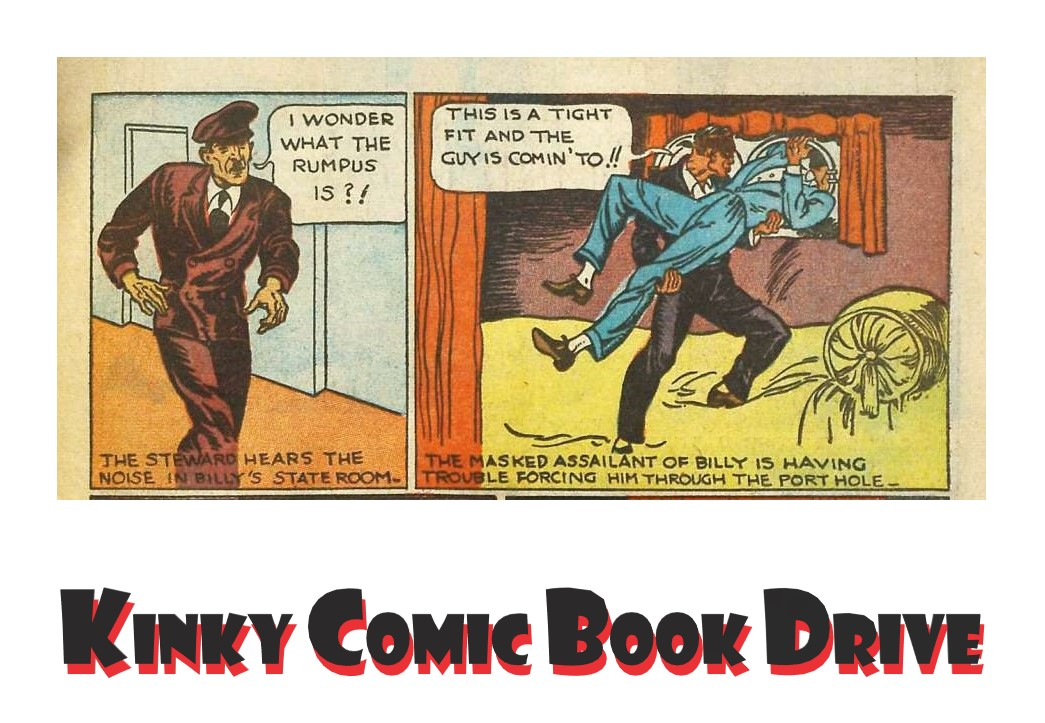 Kinky Comic Book Drive Banner Final